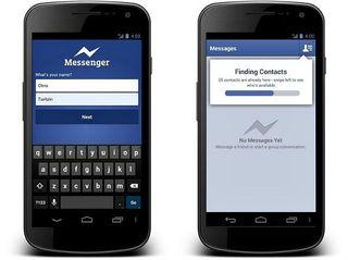 В Fаcebook придется пользоваться отдельным приложением для общения