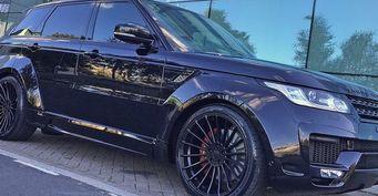 Hamann представил новый обвес для Range Rover Sport