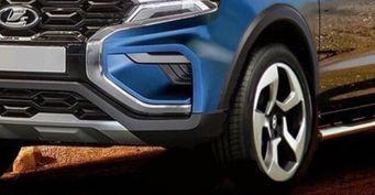 Toyota Hilux может отдыхать: Крупный пикап LADA Niva Vision показан нарендерах