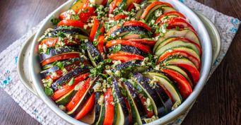 «Осенний» Рататуй из3-х сезонных овощей— Богатый навитамины