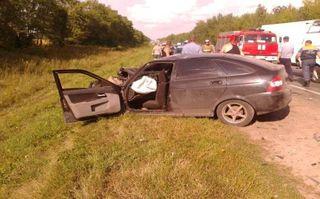 В Рязанской области произошло ДТП, есть пострадавшие