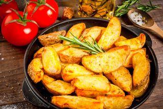 Запеченная картошечка с кожурой, источник: yandex.kz Санькова Ж.
