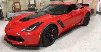 Шесть уникальных автомобилей Chevrolet Corvette уйдут с молотка