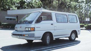 Фото: Mitsubishi Van 1988 года, источник: Motor1