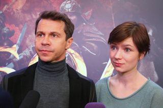 Павел Деревянко с бывшей женойФото: teleprogramma.pro