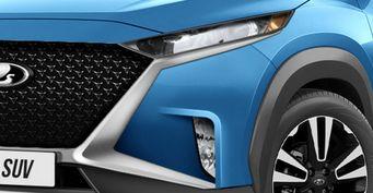 Утрёт нос «Крете» иКитаю: Новая LADA Niva набазе Nissan Magnite— первые рендеры