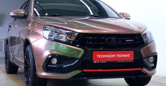 Изуниверсала в«спорткар»: Превращаем LADA Vesta SWвSWSport за400 тысяч рублей