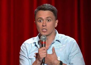 Молодой Илья Соболев насцене Comedy Club Фото: Youtube