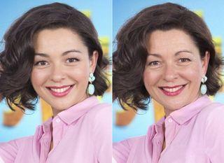 Марина Кравец сейчас и спустя 10-15 лет / Фото: pokatim.ru