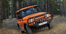 «Пародия на Jeep, которая лучше оригинала»: Автомобилистов удивил «злой» обвес УАЗ «Хантер»