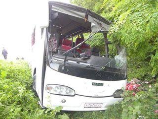 Автобус «Боровое-Омск» попал в крупное ДТП, погибли два человека