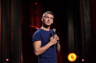 """Алексей Щербаков на """"Stand Up"""". Фото: vk.com"""