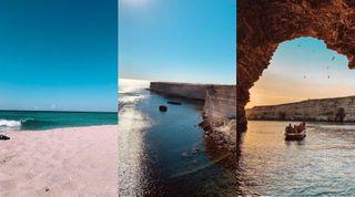 Пляжи Оленевки и мыс Тарханкут. Кадры: Instagram и «ВКонтакте»