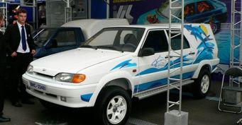 В Тольятти продают эксклюзивный пикап на основе ВАЗ-2114