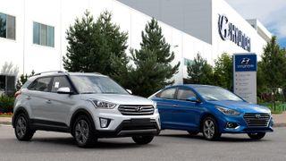 Фото: Hyundai Creta иSolaris, источник: Hyundai