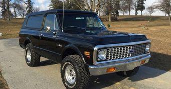 В США продан Chevrolet K5 Blazer 1971  за 220 тысяч долларов