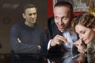 Алексей Навальный иИван Охлобыстин ссупругой. Коллаж: lenta.ru, www.instagram.com