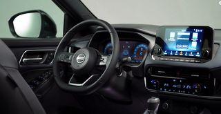 Салон Nissan Qashqai 2021. Кадр: YouTube-канал Carwow