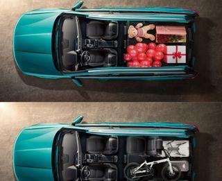 Даже маркетологи понимают, что перевозить вTiggo 7 Pro будут только шарики. Фото: chery.ru