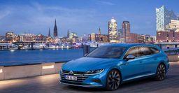 Скоростной универсал из VW Arteon: Опубликованы независимые рендеры