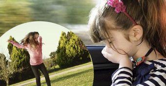 От батута до жонглирования: игровые упражнения помогут бороться с укачиванием ребёнка в машине