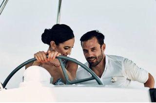 Валентин Коробков и Ольга Бузова. Источник: Instagram valentin_korobkov