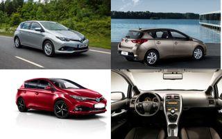 Фото: экстерьер и интерьер Toyota Auris, источник: Toyota