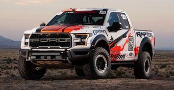 Серийный Ford F-150 Raptor примет участие в гонке Baja 1000