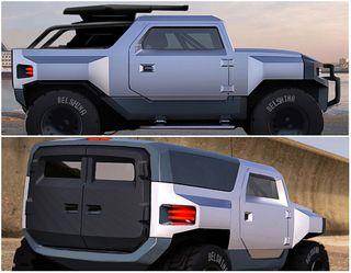 UAZ Armor. Концепт: Behance