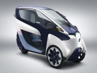 Toyota занимается городским тестированием трехколесного i-Road