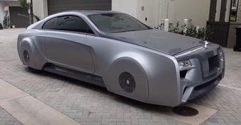 Специально для Бибера: Тюнеры выкатили уникальное купе Rolls-Royce Wraith
