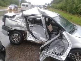 В Нижегородской области в результате ДТП погибли двое взрослых и ребёнок