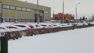 Renault Clio прячется на«АвтоВАЗе». Фото: AvtoVAZ News