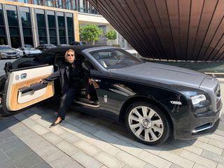 Ляйсан Уияшева в Rolls-Royce. Фото: Instagram, Pavel Volya