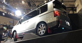 Представлено новое поколение внедорожника Mitsubishi Delica D:5