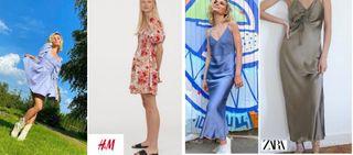 Фото автора «Покатим» – примеры женственных нарядов звезды и аналоги из масс-маркета