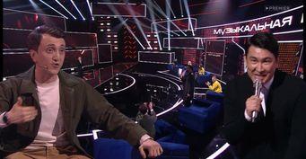 Придворный шут Мусагалиеву необходим: Состав команд сменился, Дорохов остался вшоу «Музыкальная интуиция»