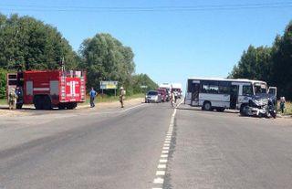 В ДТП под Нижним Новгородом погибли 2 человека