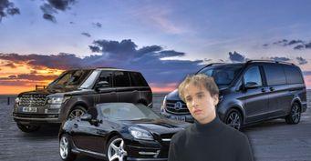 Кабриолет, «Бус» иRange Rover на20 млн: Раскрываем авто 21-летнего Славы Марлов