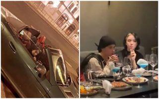 Фото: Слава Марлоу и Карамбейби проводят время вместе. Источник: «Покатим!»