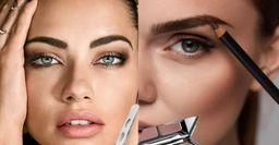 «Модельные» брови, или Как сделать трендовую укладку без мастера