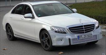 Новый Mercedes-Benz C-Class получит светодиодную оптику и гибридный мотор