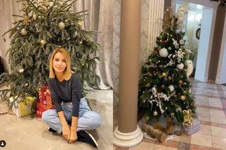 В доме Орловой две ёлки - и обе очень скромныеФото: instagram.com/olgaorlova1311
