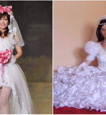 Платье-торт ипошлый корсет: свадебные наряды, которые уже невмоде