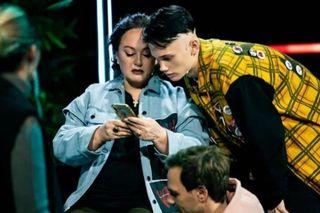 Лариса Гузеева иДаня Милохин нашоу «ТикТок талант» Источник: Instagram @_larisa_guzeeva_