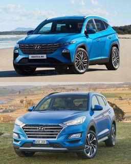 «Туссон» IVиIII поколений, источники: Hyundai, «Колёса.ру»