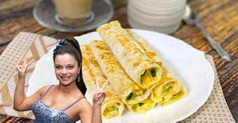 Звездный завтрак отНаташи Королевой: «Блинчики» излаваша