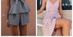 Как подобрать образ в модную «клетку» — принт vichy добавит очарования