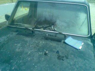 Полицейские города Курск остановили попытку поджога машин