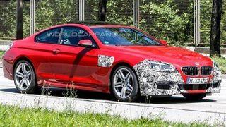 Новая модель купе BMW 6-Series была сфотографирована без камуфляжа